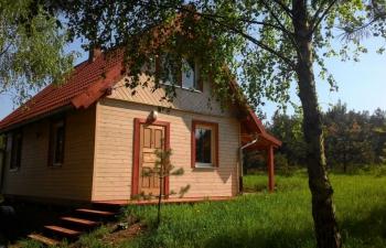 Noclegi na Mazurach, domek w Kruklankach
